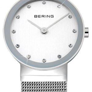 Bering Classic 10122-000 Kello Valkoinen / Teräs