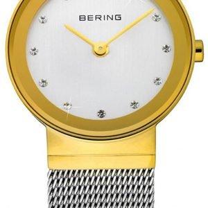Bering Classic 10122-001 Kello Valkoinen / Teräs