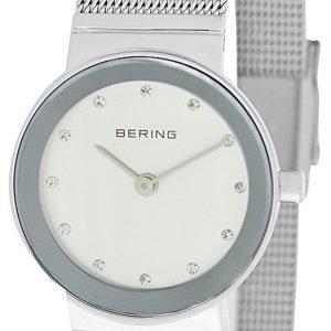 Bering Classic 10126-000 Kello Valkoinen / Teräs