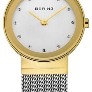 Bering Classic 10126-001 Kello Valkoinen / Teräs