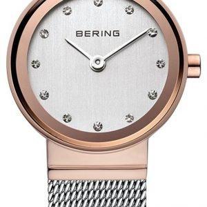 Bering Classic 10126-066 Kello Valkoinen / Teräs