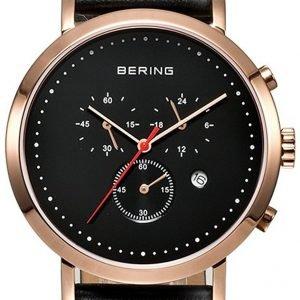 Bering Classic 10540-462 Kello Musta / Nahka