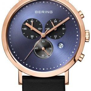 Bering Classic 10540-567 Kello Sininen / Nahka