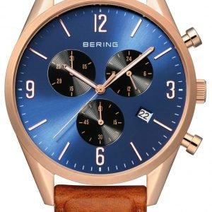 Bering Classic 10542-467 Kello Sininen / Nahka