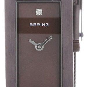 Bering Classic 10817-393 Kello Ruskea / Teräs