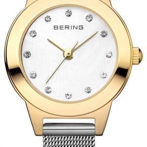 Bering Classic 11125-010 Kello Valkoinen / Teräs