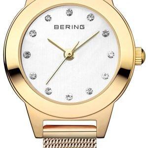 Bering Classic 11125-334 Kello Valkoinen / Kullansävytetty