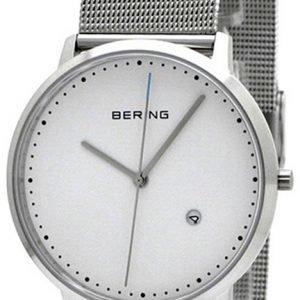 Bering Classic 11139-004 Kello Valkoinen / Teräs