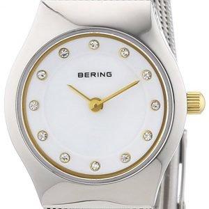 Bering Classic 11923-004 Kello Valkoinen / Teräs