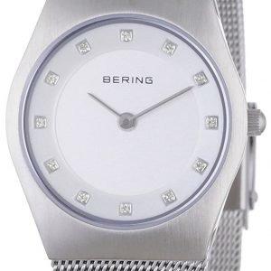 Bering Classic 11927-000 Kello Valkoinen / Teräs
