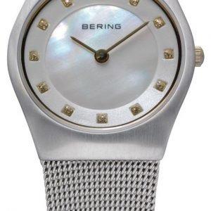 Bering Classic 11927-004 Kello Valkoinen / Teräs