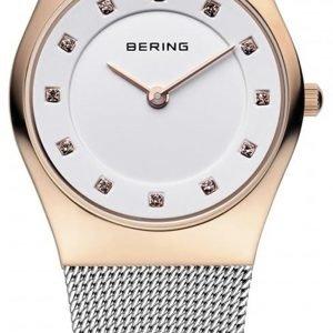 Bering Classic 11927-064 Kello Valkoinen / Teräs