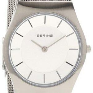 Bering Classic 11930-001 Kello Valkoinen / Teräs