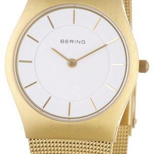 Bering Classic 11930-334 Kello Valkoinen / Kullansävytetty