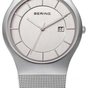 Bering Classic 11938-000 Kello Valkoinen / Teräs