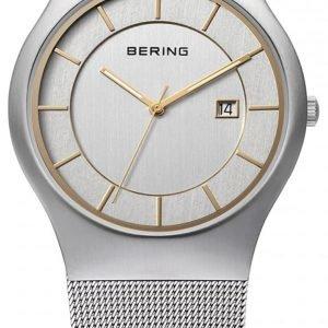 Bering Classic 11938-001 Kello Hopea / Teräs