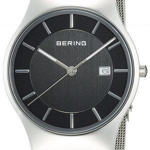 Bering Classic 11938-002 Kello Musta / Teräs