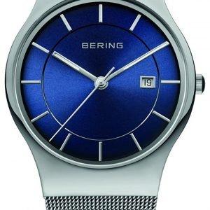 Bering Classic 11938-003 Kello Sininen / Teräs