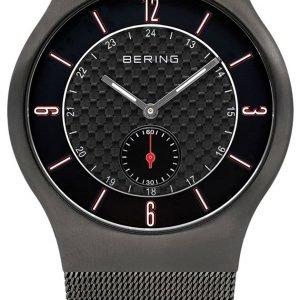 Bering Classic 11940-377 Kello Musta / Teräs