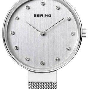 Bering Classic 12034-000 Kello Valkoinen / Teräs