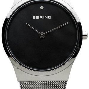 Bering Classic 12130-009 Kello Musta / Teräs
