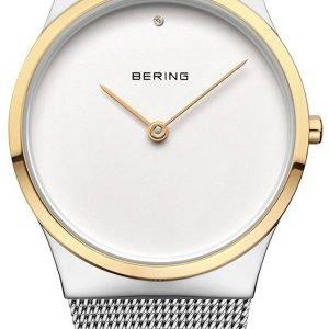 Bering Classic 12130-014 Kello Valkoinen / Teräs