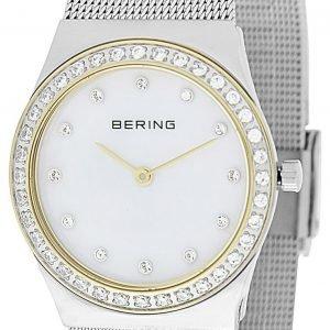 Bering Classic 12430-010 Kello Valkoinen / Teräs