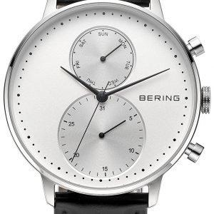 Bering Classic 13242-404 Kello Valkoinen / Nahka