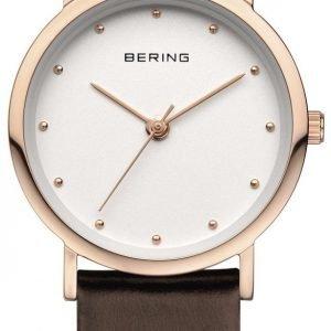 Bering Classic 13426-564 Kello Valkoinen / Nahka