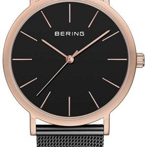 Bering Classic 13436-166 Kello Musta / Teräs