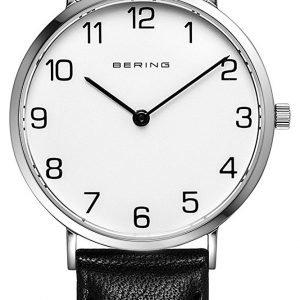 Bering Classic 13934-404 Kello Valkoinen / Nahka