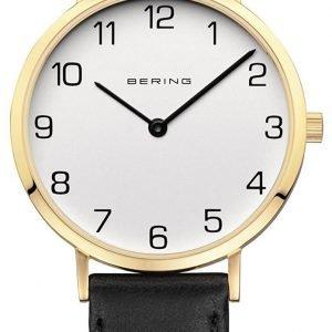 Bering Classic 13934-434 Kello Valkoinen / Nahka
