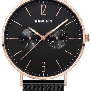 Bering Classic 14240-166 Kello Musta / Teräs