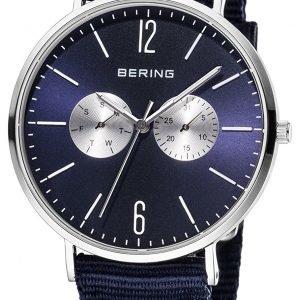 Bering Classic 14240-507 Kello Sininen / Tekstiili