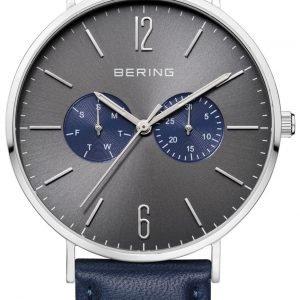 Bering Classic 14240-803 Kello Harmaa / Nahka