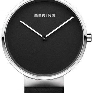 Bering Classic 14539-402 Kello Musta / Nahka