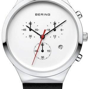 Bering Classic 14736-404 Kello Valkoinen / Nahka