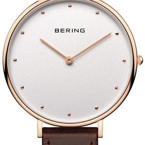 Bering Classic 14839-564 Kello Valkoinen / Nahka