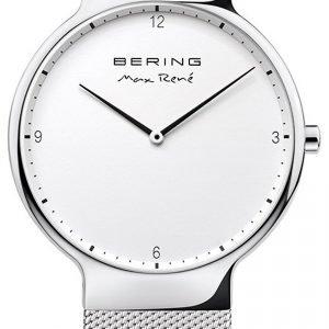 Bering Max Rene 15540-004 Kello Valkoinen / Teräs