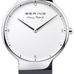 Bering Max Rene 15540-400 Kello Valkoinen / Kumi