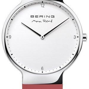 Bering Max Rene 15540-500 Kello Valkoinen / Kumi