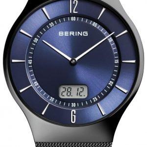 Bering Radio Controlled 51640-227 Kello Sininen / Teräs