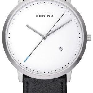 Bering Slim 11139-404 Kello Valkoinen / Nahka