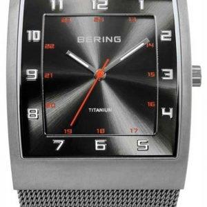 Bering Titanium 11233-077 Kello Harmaa / Titaani