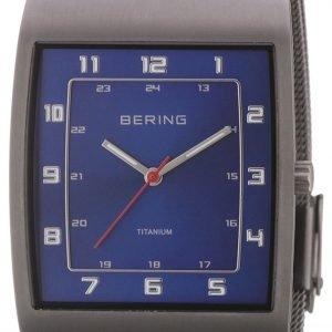 Bering Titanium 11233-078 Kello Sininen / Titaani