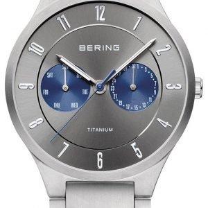 Bering Titanium 11539-777 Kello Hopea / Titaani