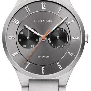 Bering Titanium 11539-779 Kello Hopea / Titaani