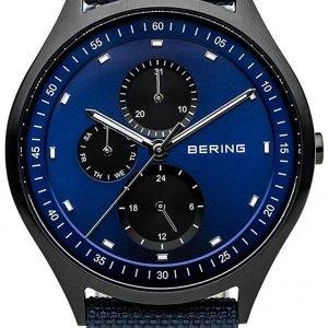 Bering Titanium 11741-827 Kello Sininen / Nahka