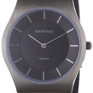 Bering Titanium 11935-077 Kello Harmaa / Titaani