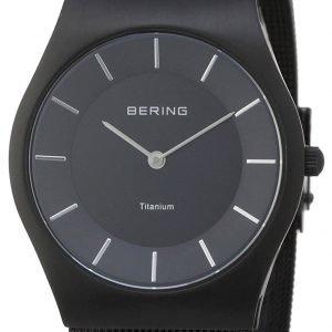 Bering Titanium 11935-222 Kello Musta / Titaani